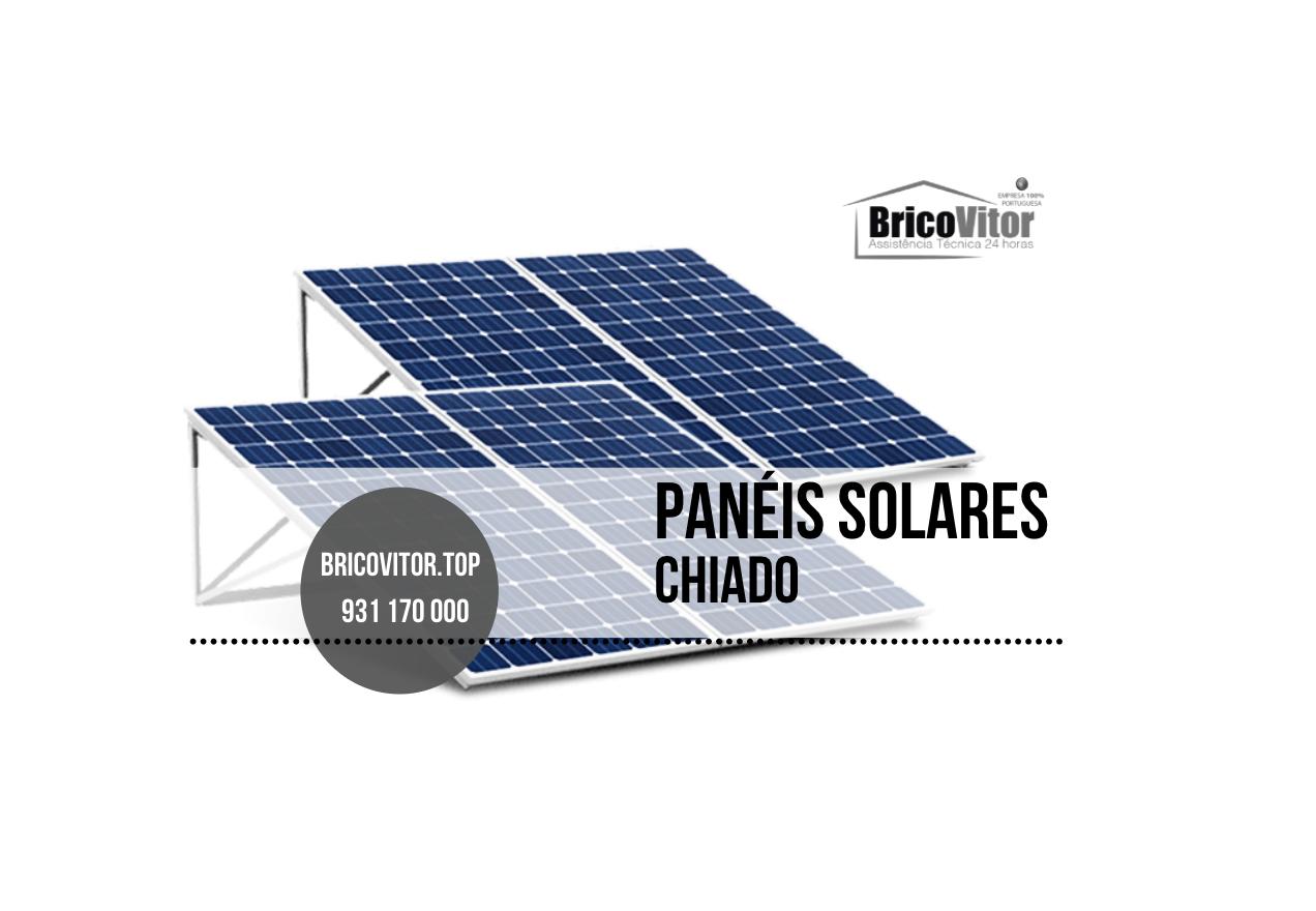 Razoável Manutenção Painéis Solares Chiado