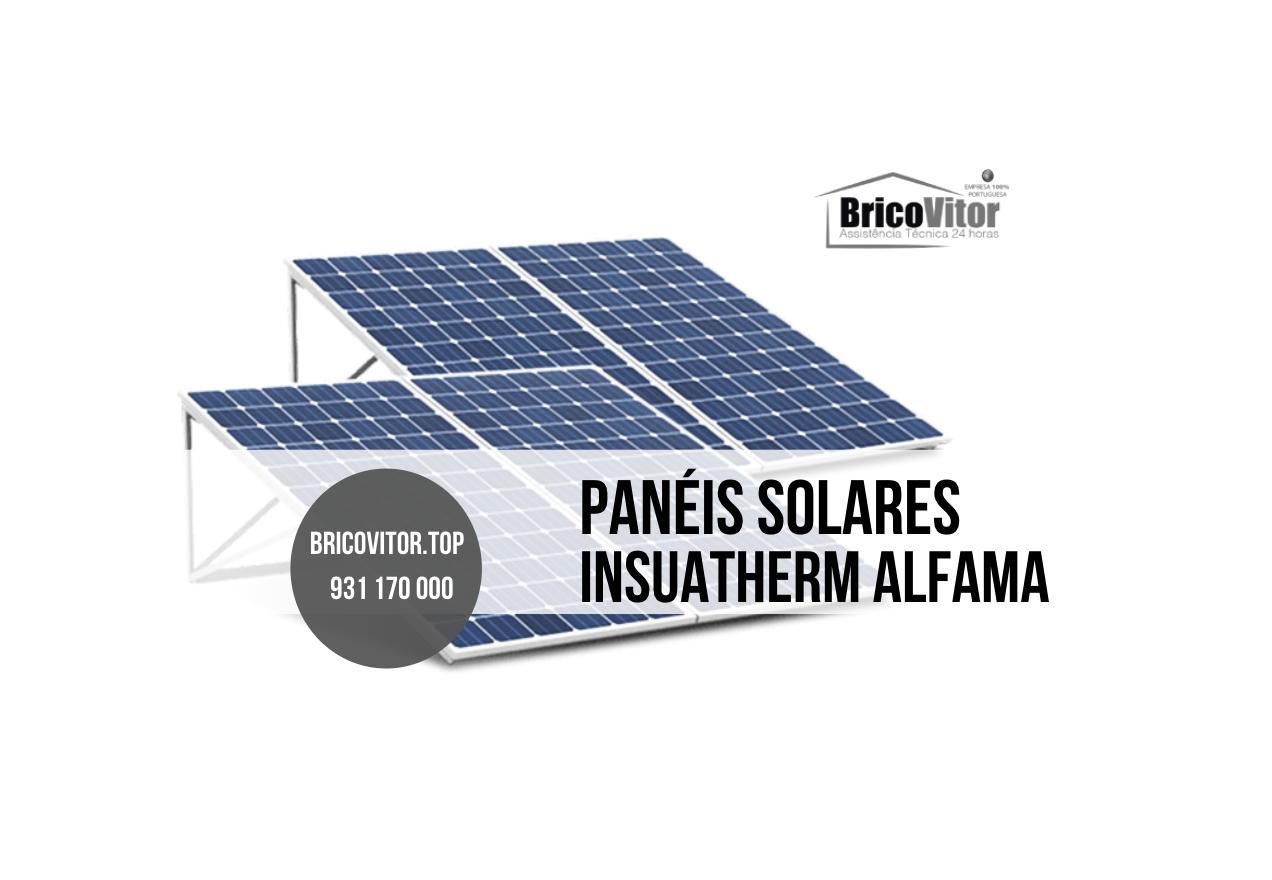 Manutenção Painéis Solares Insuatherm Alfama
