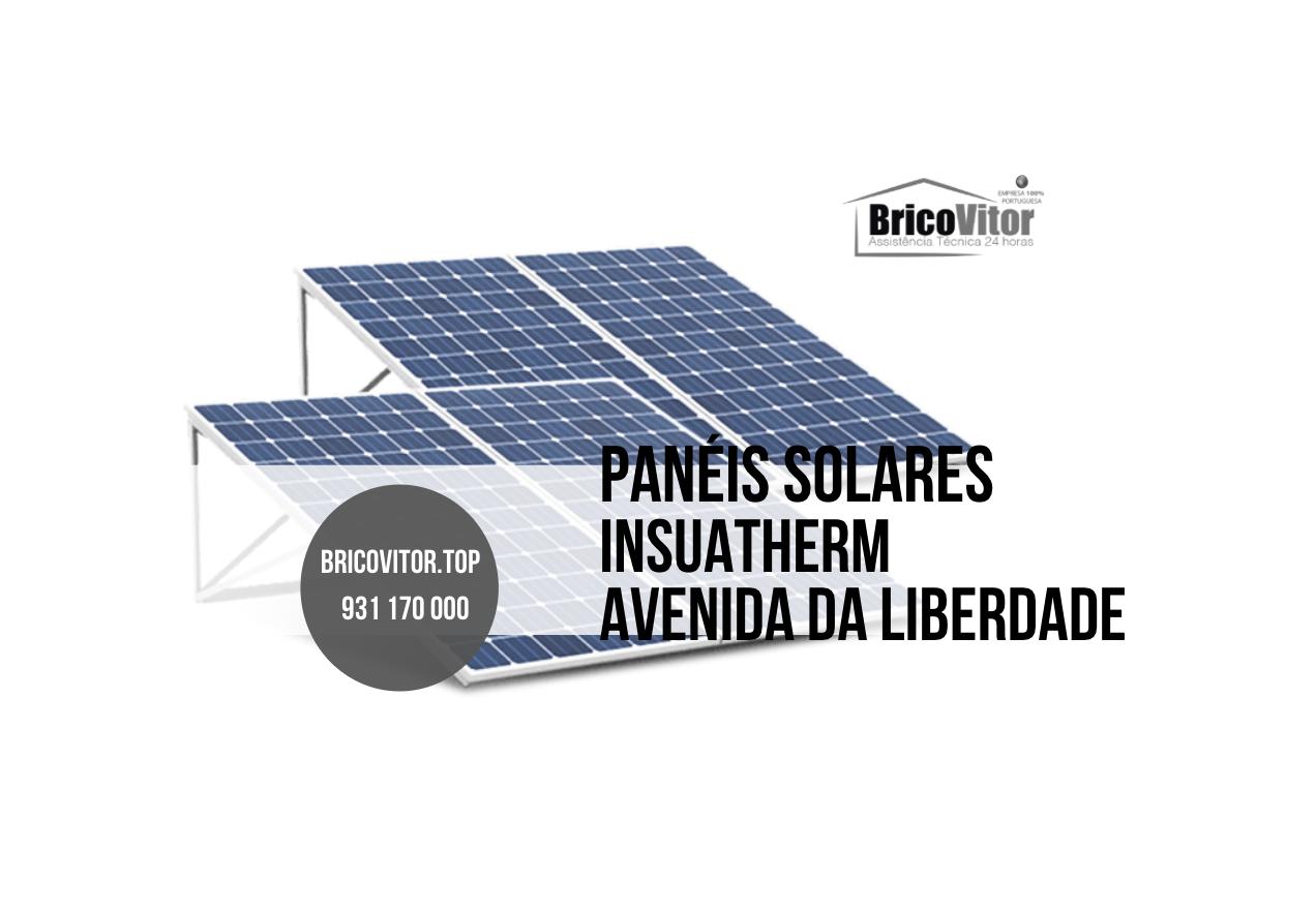 Manutenção Painéis Solares Insuatherm Avenida da Liberdade