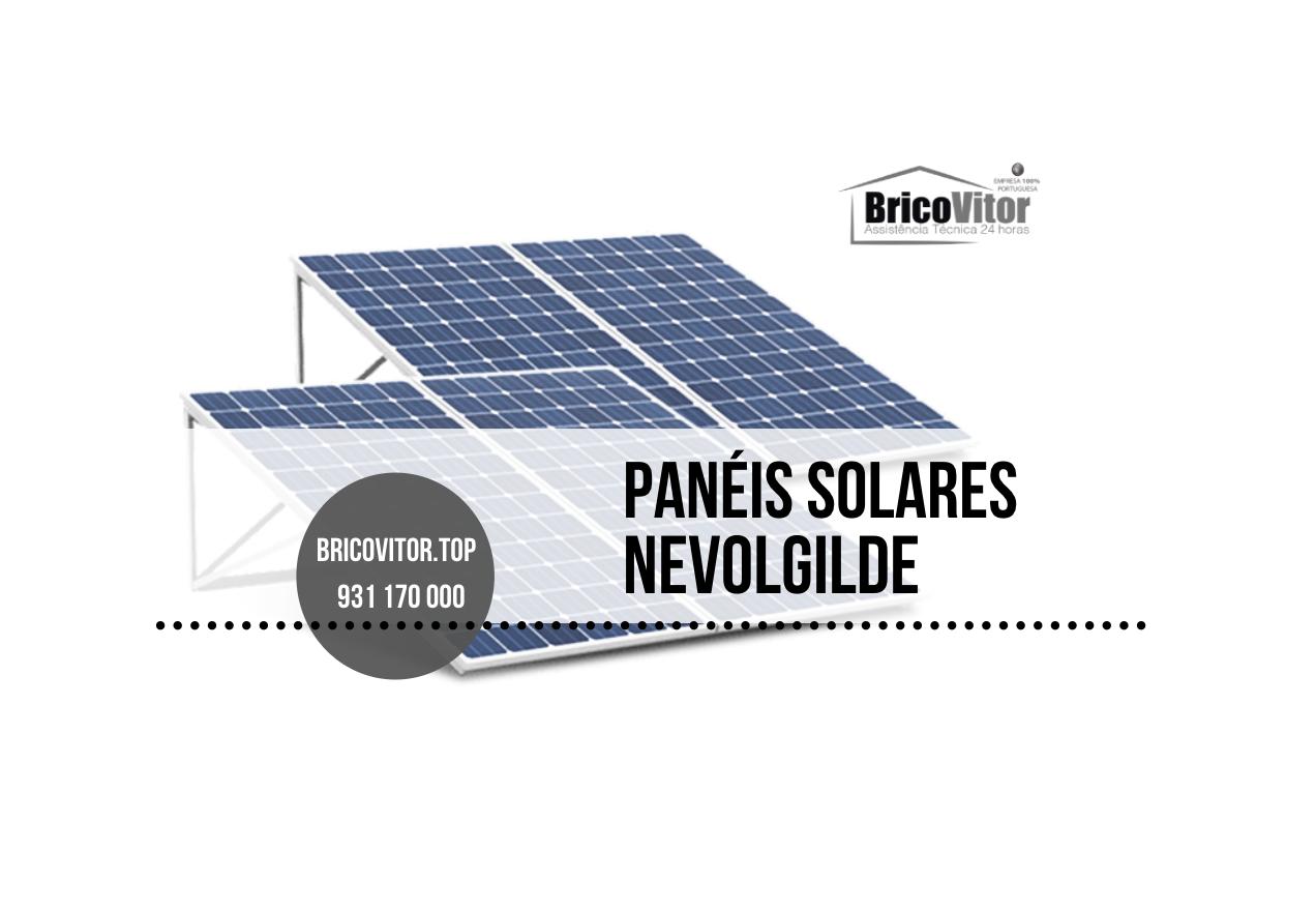 Manutenção Painéis Solares Nevolgilde