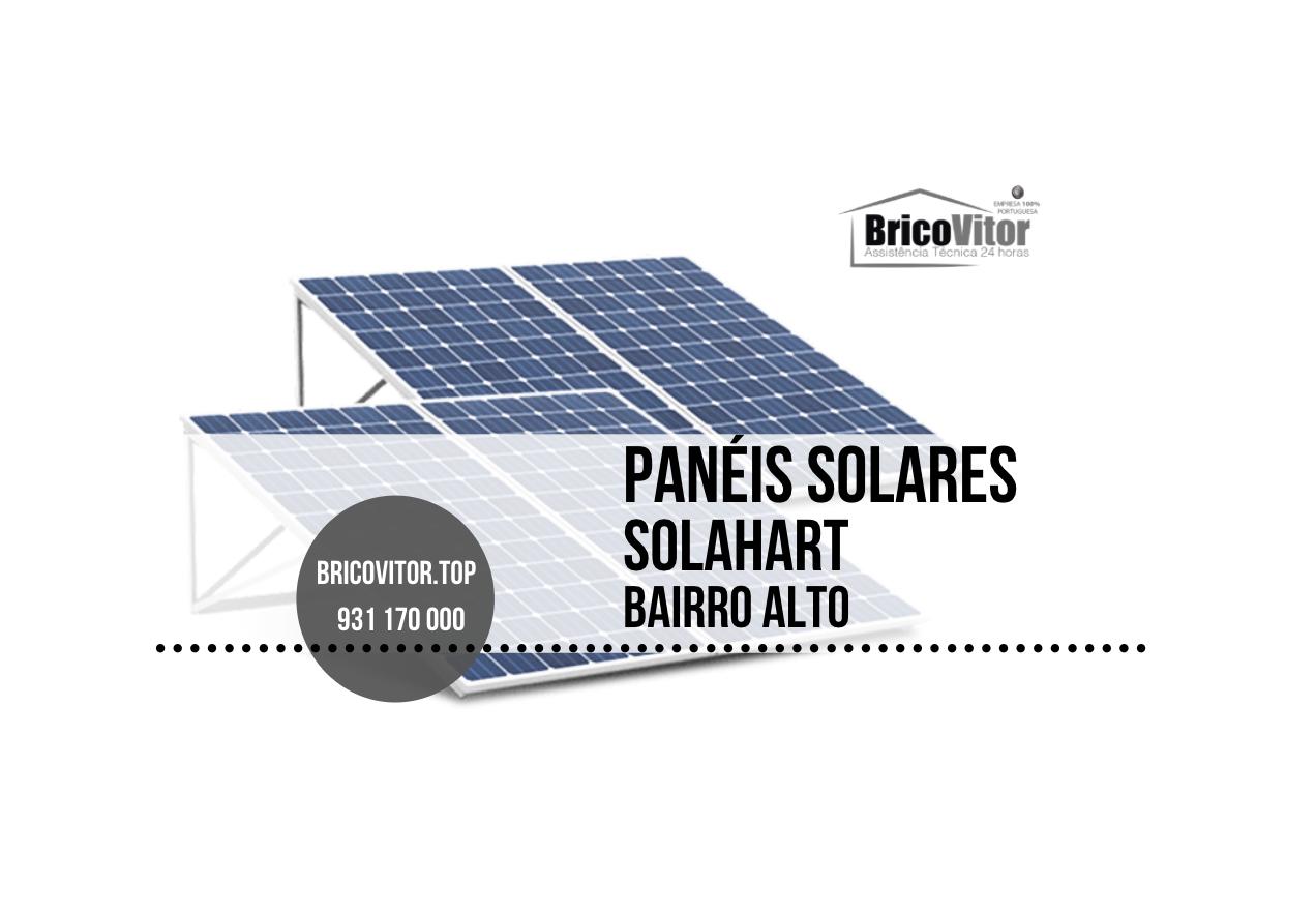 Manutenção Painéis Solares Solahart Bairro Alto