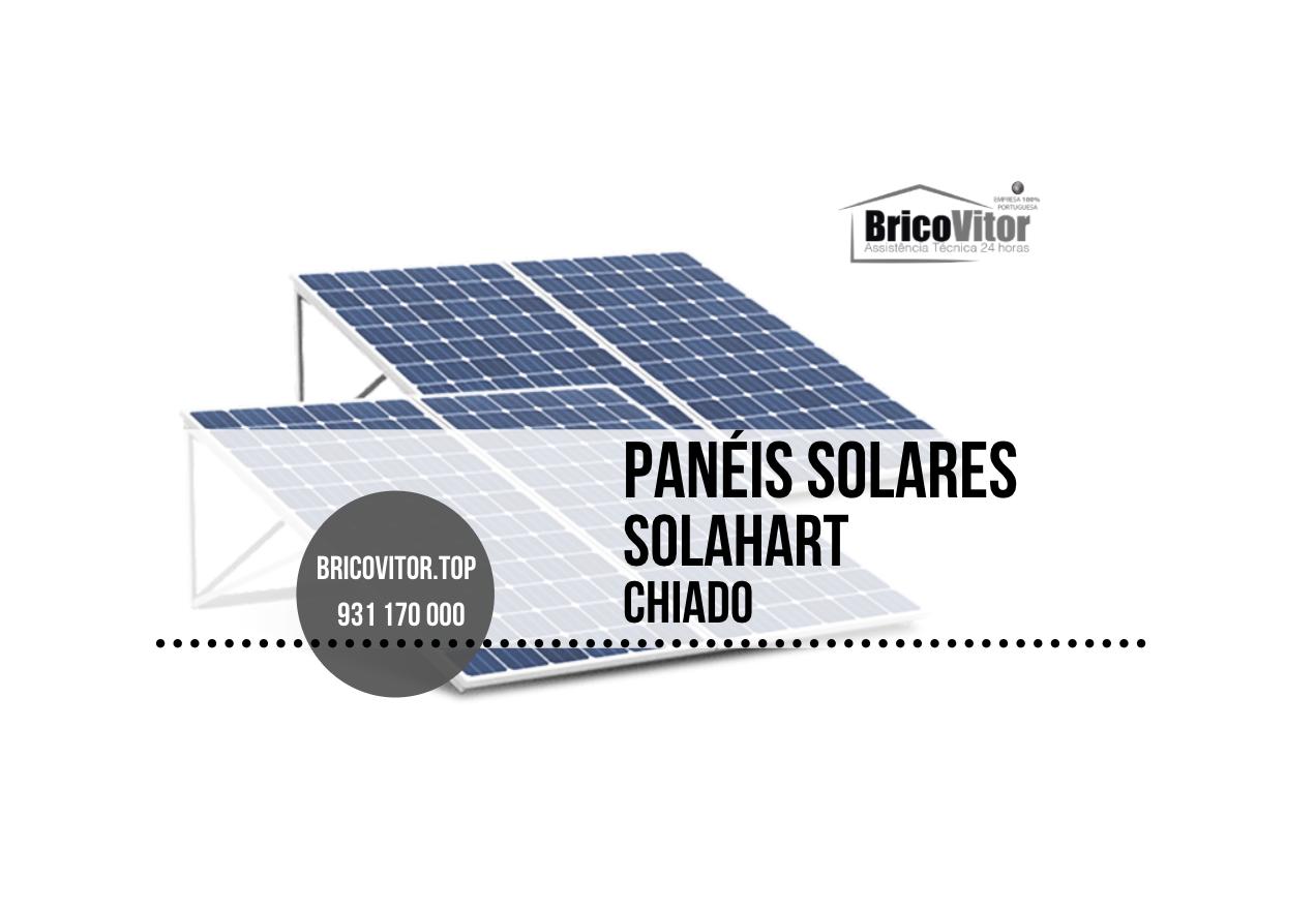 Manutenção Painéis Solares Solahart Chiado