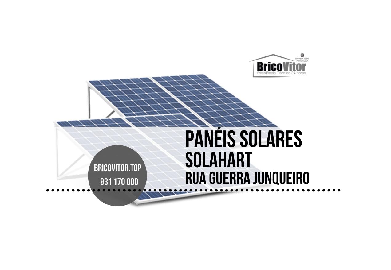 Manutenção Painéis Solares Solahart Rua Guerra Junqueiro